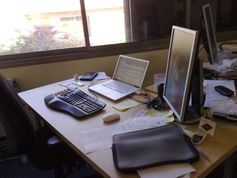 Jon Aizen's Desk